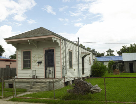 New orleans project house, lower ninth ward