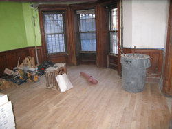 New laid wood floors in Brooklyn TOH project house